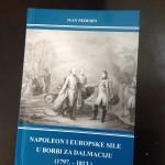 Objavljena knjiga Ivana Pederina: Napoleon i europske sile u borbi za Dalmaciju