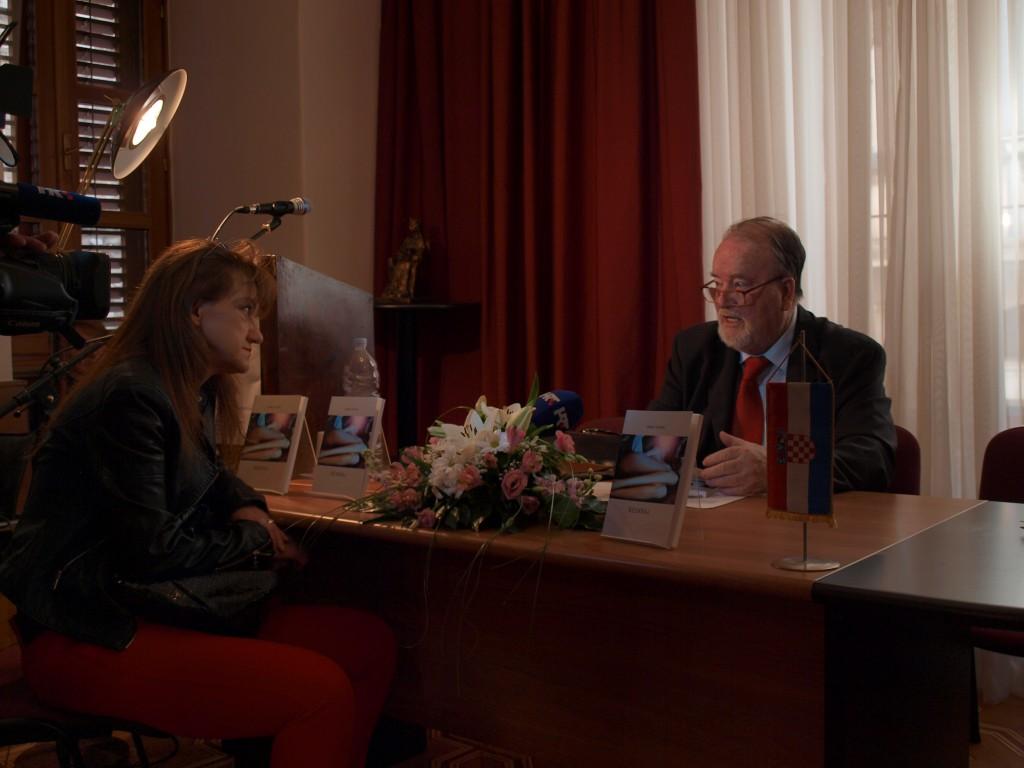 Razgovor gosp. Vinka Hajnca s novinarkom HRT-a
